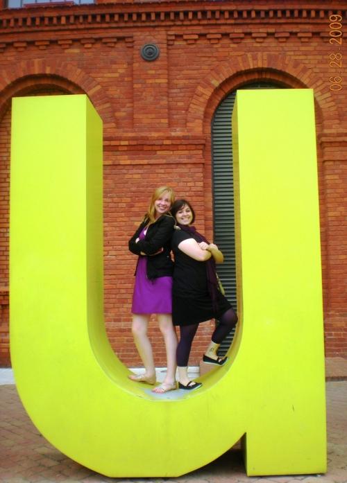 Students on Lodz Trip at Manufaktura