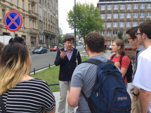 Summer School Lecture in Lodz by Local Historian 2017